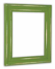 Distressed Eden Green Picture Frame - Solid Wood