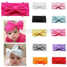 Fashion Kids Baby Girl Toddler Infant Cute Elastic Headband Bowknot Hairband