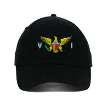 Virgin Island Flag Seal Embroidered SOFT UNSTRUCTURED Hat Baseball Cap