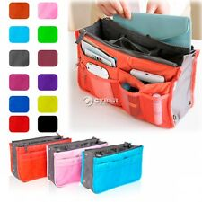 Travel Insert Handbag Organiser Purse Large Liner Organizer Tidy Bag 12 Color