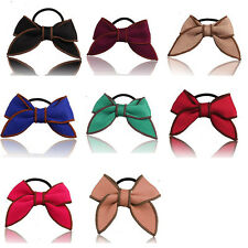 Bow Hairband Hair Rope Hair Accessories Ponytail Holder Scrunchie Satin Ribbon