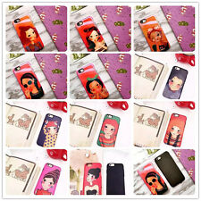 Fashion Patterned Silicone Phone Cases Covers Skins For iPhone 6 6s Plus 4.7 5.5
