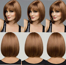 Straight Sexy Hair Wigs Short Hair Party Fashion Full Cosplay 4 Colors Womens