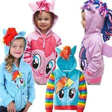 100-150 Grils cute My Little Pony Angeltee Wings kids jacket hoodie sweater