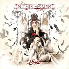 Blood - In This Moment New & Sealed CD-JEWEL CASE Free Shipping