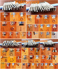 10kind 54pcs Stainless Steel Leather Craft Stamping Stamp Punch Stamper Tool Set