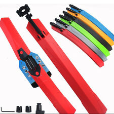 1pcs Bike Mud Guards Cycling Mountain Bicycle Front Rear Plastic Mudguard Fender