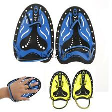 Pro Swimming Hand Paddles Fins for Resistance Swim Training 3 Colors