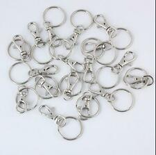 10/20 Clasps Lobster Hooks Finding Swivel Charm Key Ring Split Bag Trigger Clips