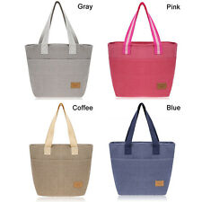 Thermal Portable Cooler Waterproof Lunch Picnic Tote Storage Carry Pouch Bag Box