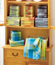 Woven Kitchen Towel Sets 14-Pc Dish Cloths Cleaning Colorful Home Decor