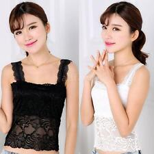New Fashion Women's Tank Top Lace Vest Crop Top Backless Sleeveless Blouse G8X8