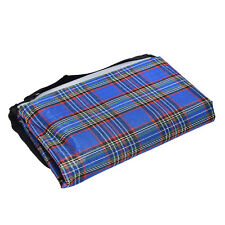 1X Folding Blanket Camping Outdoor Beach Waterproof Backing Picnic Rug Mat FT