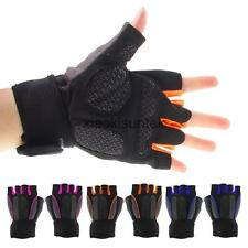 Pro Cycling Bike Bicycle MTB Microfiber Outdoor Sports Half Finger Gloves M/L/XL