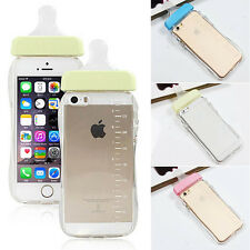 Lovely Baby Biberon Milk Feeding Bottle Phone Cover Case Skin For iPhone Protect