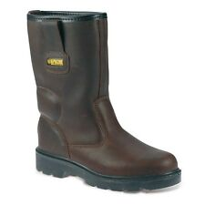 Apache AP305 Rigger Safety Boot Water Resistant Fleece Ankle Padding Steel Toe C