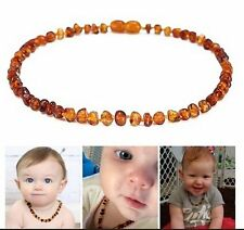 2016 Genuine Baltic Amber Hand Choker Bid Necklace Honey Baby Teething Pure Gift