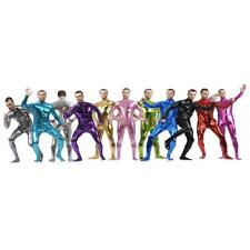 Shiny Full Skin Bodysuit Spandex Suit Zentai Tight Jumpsuit Unitard Fancy Dress