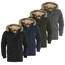 *£20 DEAL* BOYS KIDS SCHOOL AGE 7 8 9 10 PARKA JACKET FUR HOOD WINTER COAT