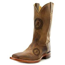 Nocona Alabama Branded Men  Square Toe Leather Brown Western Boot