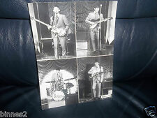 THE BEATLES OFFICIAL LARGE 1963 VALEX  PROMOTIONAL PHOTOGRAPH FULL GLOSS AWESOME