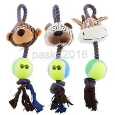 Different Designs Plush Pet Dog Puppy Play Soft Plush Cotton Rope Toy Gift PICK