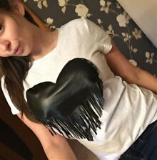 T-shirt heart-shaped fashion Hot Occident tideway sexy suit-dress chest