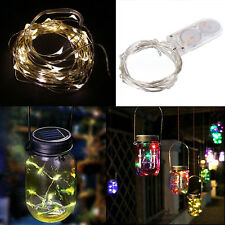 HOT String Fairy Light 10/20 LED Battery Operated Xmas Lights Party Wedding Lamp