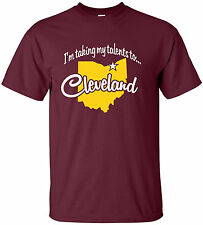"""Taking My Talents"" T-Shirt S-4XL ohio lebron james cleveland cavs cavaliers"