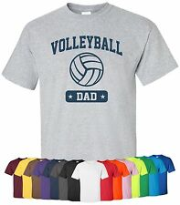 "Personalized ""Volleyball Dad"" T-Shirt Sz S-4XL sports team father custom parent"