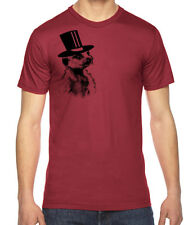 Meerkat Tophat Graphic American Apparel Fine Jersey T-Shirt RC13806