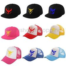 Pokemon Go Cap Pokemon Style Hat Embroidered Character Hat Costume Baseball Cap