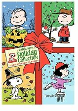 Peanuts Deluxe Holiday Collection (DVD, 2008, 3-Disc Set, Deluxe Holiday...