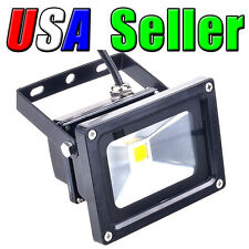 Lot of 4 110V - 240V AC 10W Cool White LED Wall Pack Wash Flood Lamp Outdoor