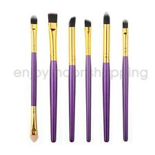 6Pcs Professional Foundation Makeup Brush Set Eyeshadow Brush Cosmetic Brush