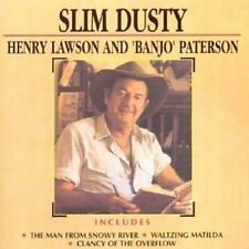 Henry Lawson & Banjo Patterson - Slim Dusty New & Sealed Compact Disc Free Shipp