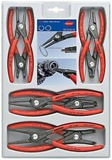 KNIPEX 00 20 04 SB 8-Piece Precision Circlip Snap-Ring Pliers Set