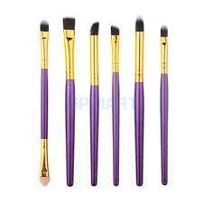 6Pcs Professional Cosmetic Makeup Brush Lip Makeup Brush Eyeshadow Brush