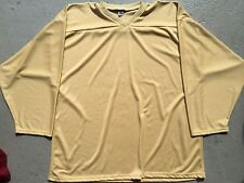 VEGAS GOLD Authentic / Midweight BLANK Mens Boys League Hockey Practice Jersey