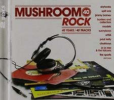Mushroom 40-rock - V/A New & Sealed CD-JEWEL CASE Free Shipping