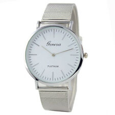Geneva Women's Fashion Stainless Steel Analog Quartz Wrist Watch Bracelet Gift
