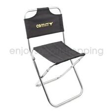Portable Fishing Camping Hiking Folding Backrest Chair Foldable Garden Stool