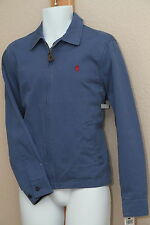 Polo Ralph Lauren Full Zipper Windbreaker Jacket Light Blue NWT