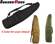 95CM Tactical Hunting Cushion Pad Rifle Gun Hand Carry Pouch Case Bag W/Shoulder