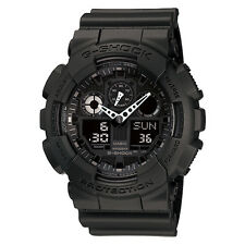 Casio G-Shock Ana-Digital Black Resin Watch GA100-1A1