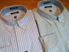 NWT, $50. MSRP, Mens Chaps Cotton Blend Classic Fit Wrinkle Free Oxford Shirt