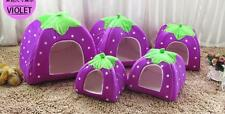 Kennel Soft Strawberry Cushion Doggy House Basket Dog Cat Pet Warm Bed Puppy