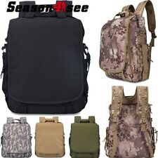Tactical Molle Shoulder Bag  Camouflage  Camping Hiking Backpack Laptop Bag