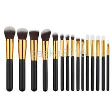 15pcs Professional Soft Cosmetic Eyebrow Shadow Makeup Brush Set Kit