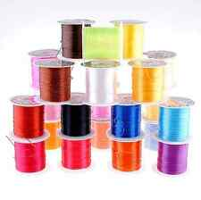 Nylon Beading Colorful Crystal Line Stretch Elastic Crafts Beading Cord Wire 10m